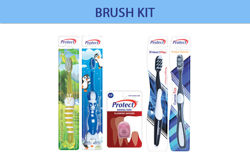 Protect Brush Combo